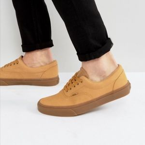 VANS OFF THE WALL  All Tan Sneakers Worn One Time